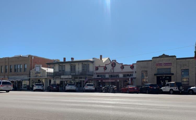 Rue principale de Fredericksburg