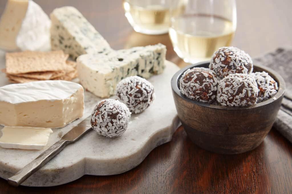 A l'apéro, parfaites pour accompagner des fromages et noix