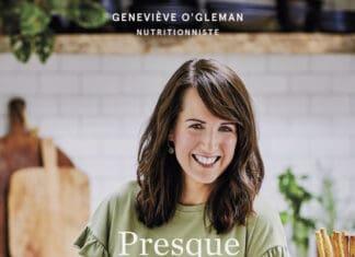 Couverture du livre Presque végé de Geneviève O'Gleman