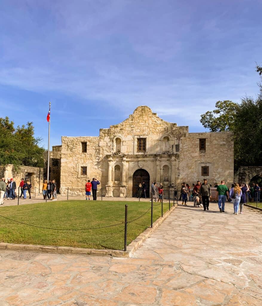 L'Alamo, icône de San Antonio au Texas