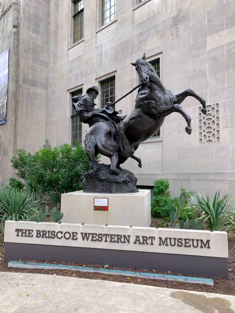 Façade du musée The Briscoe