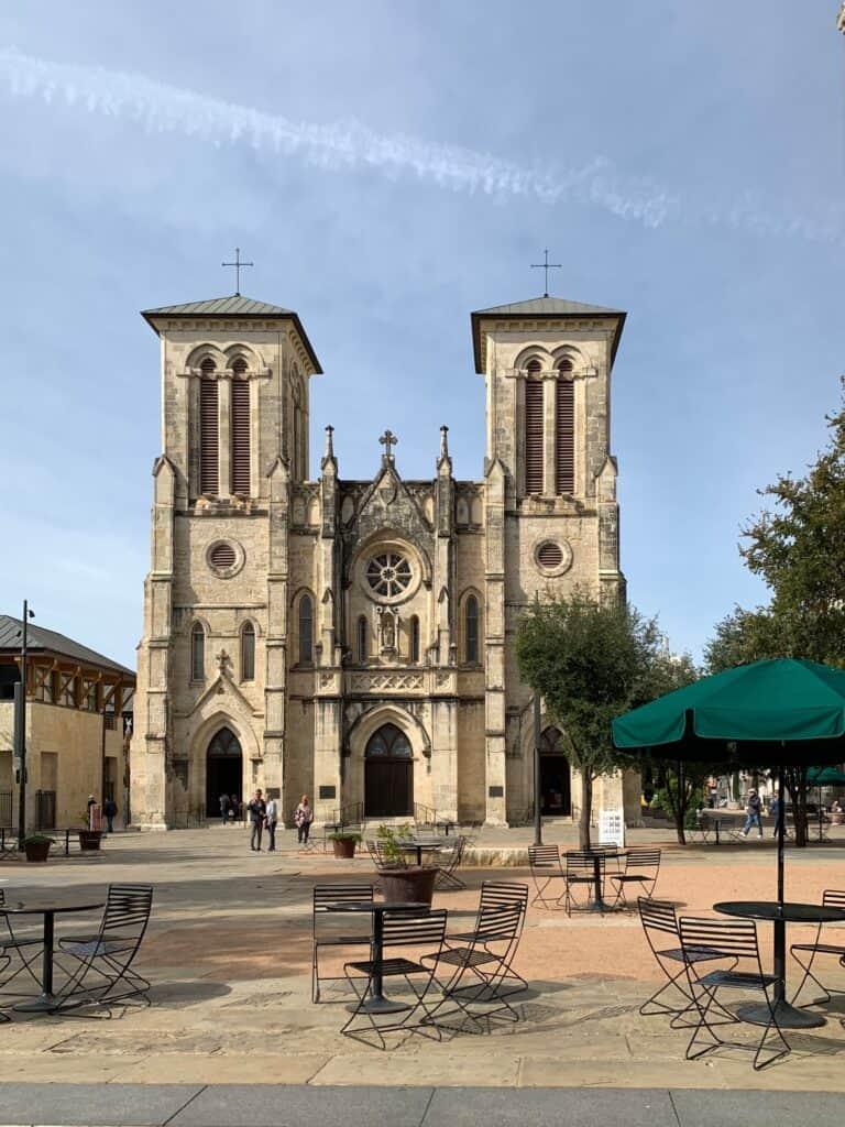 Cathédrale de San Antonio - Texas
