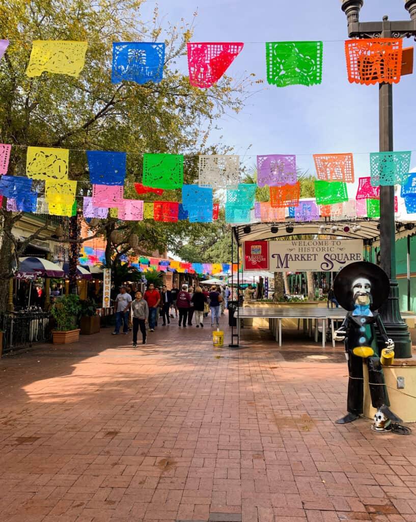 El mercado - Marché Historique de San Antonio, Texas