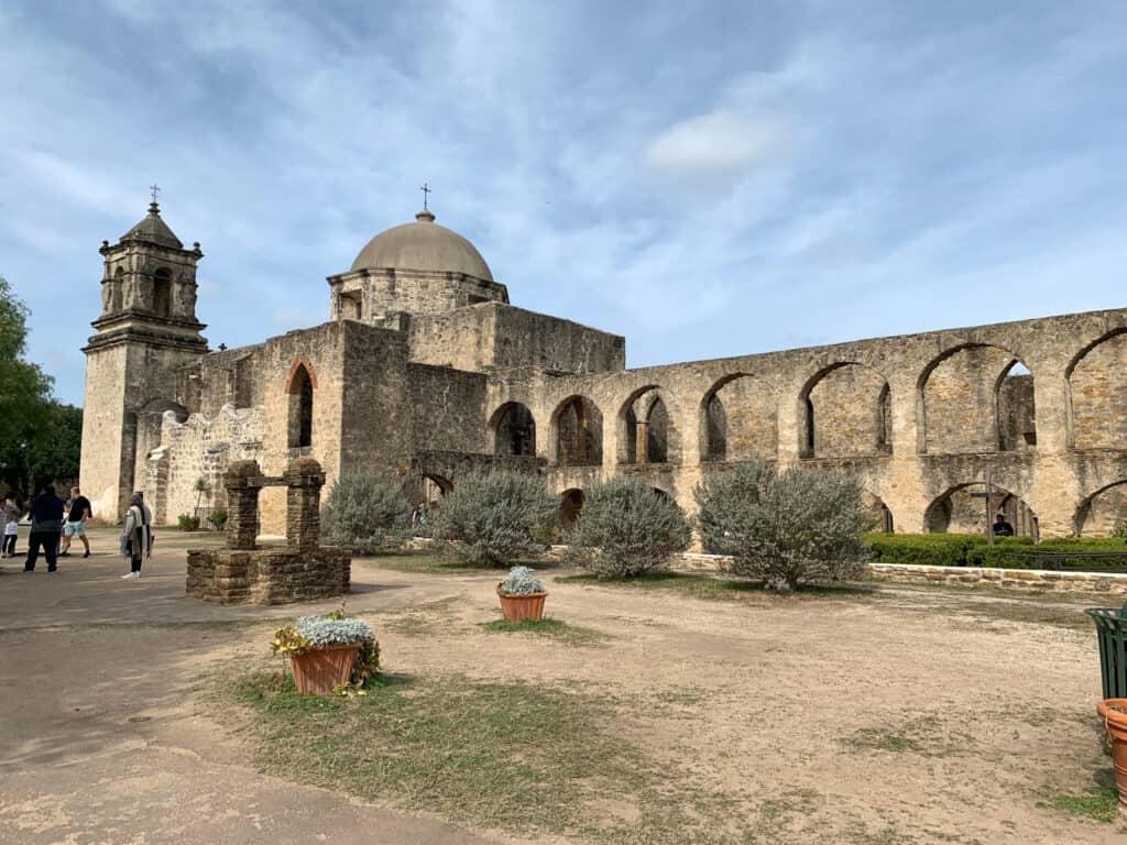 La mission San José à San Antonio, Texas