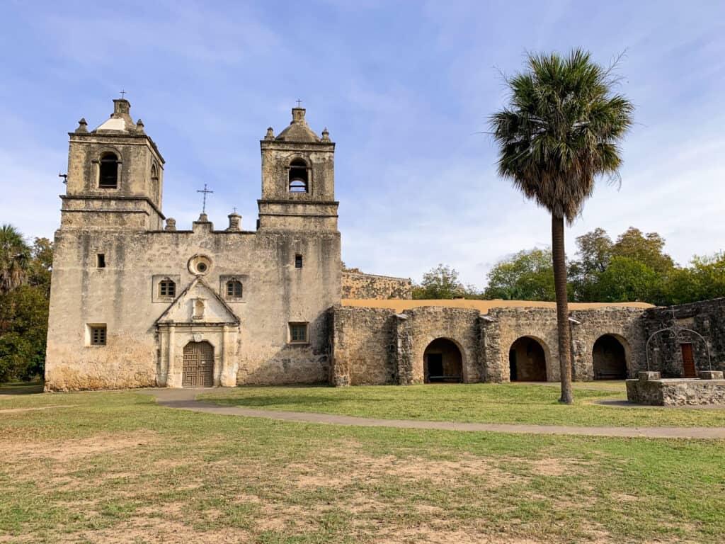 Mission Conception à San Antonio