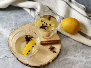 verres de hot toddy