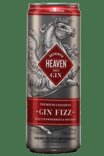 Seventh Heaven Fizz Fraise Sauvage et Rhubarbe