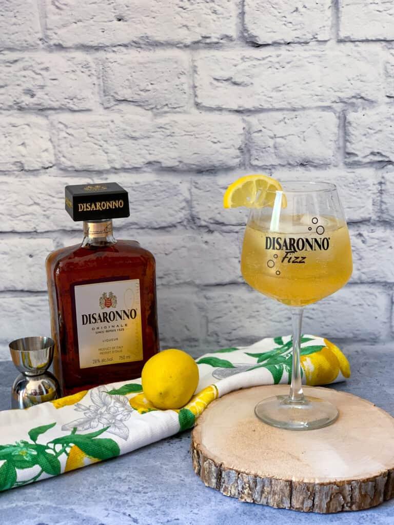 Disaronno Fizz cocktail recipe
