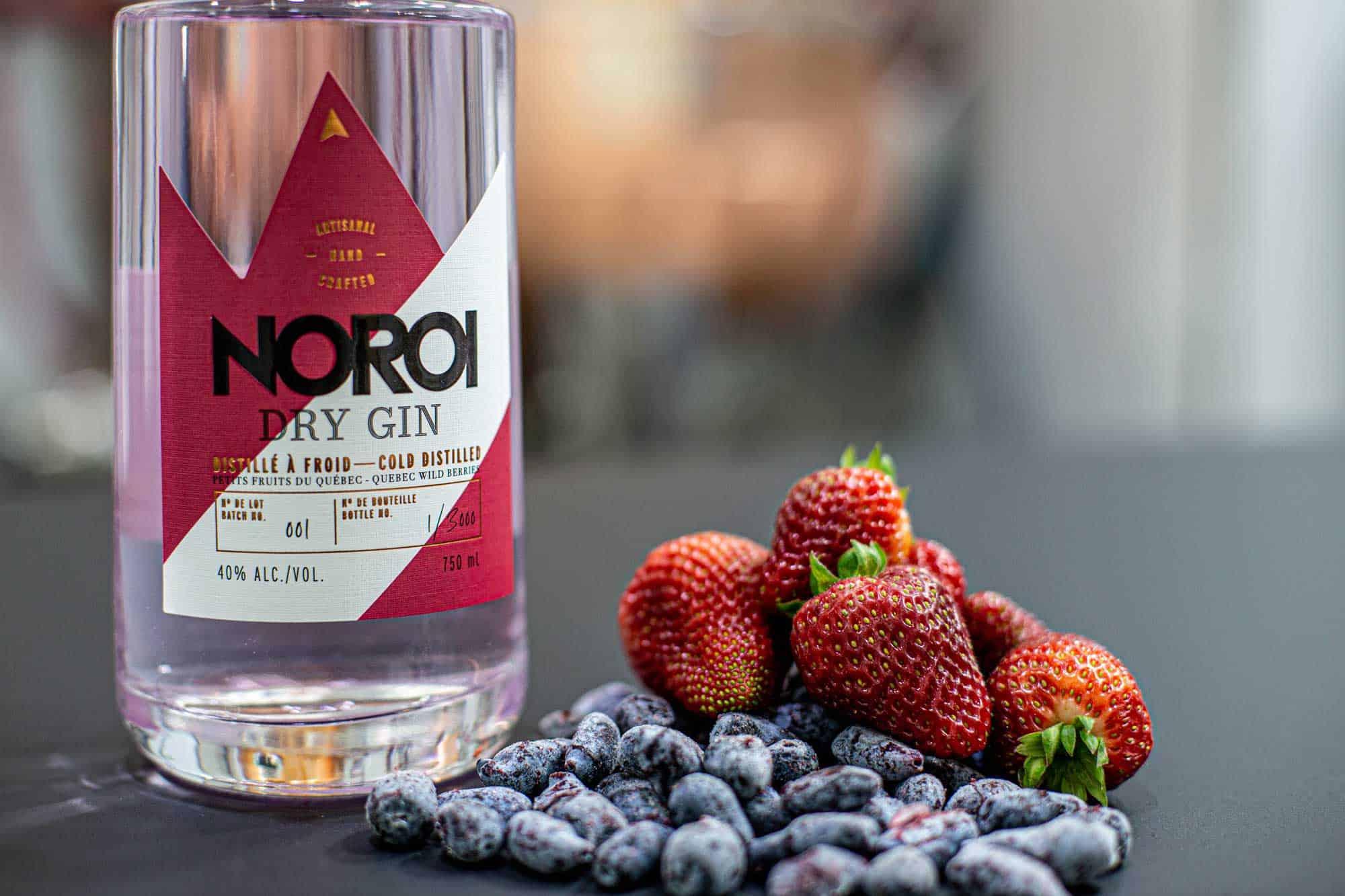 A découvrir: le gin Noroi aux petits fruits