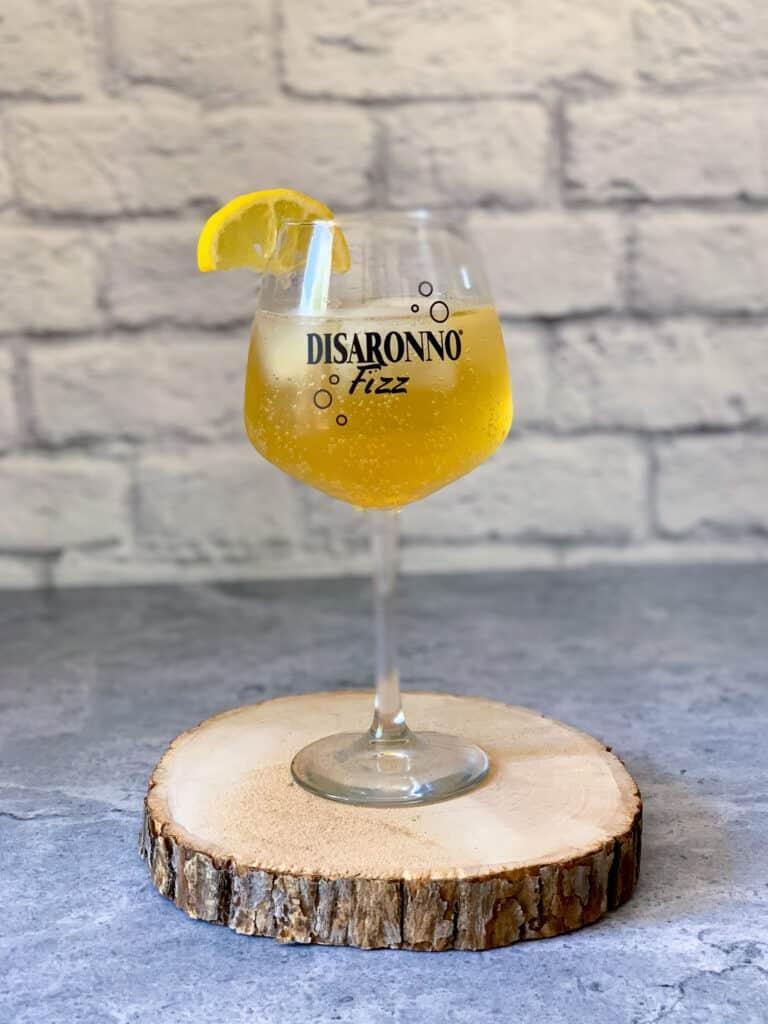 Recette de cocktail de Disaronno Fizz