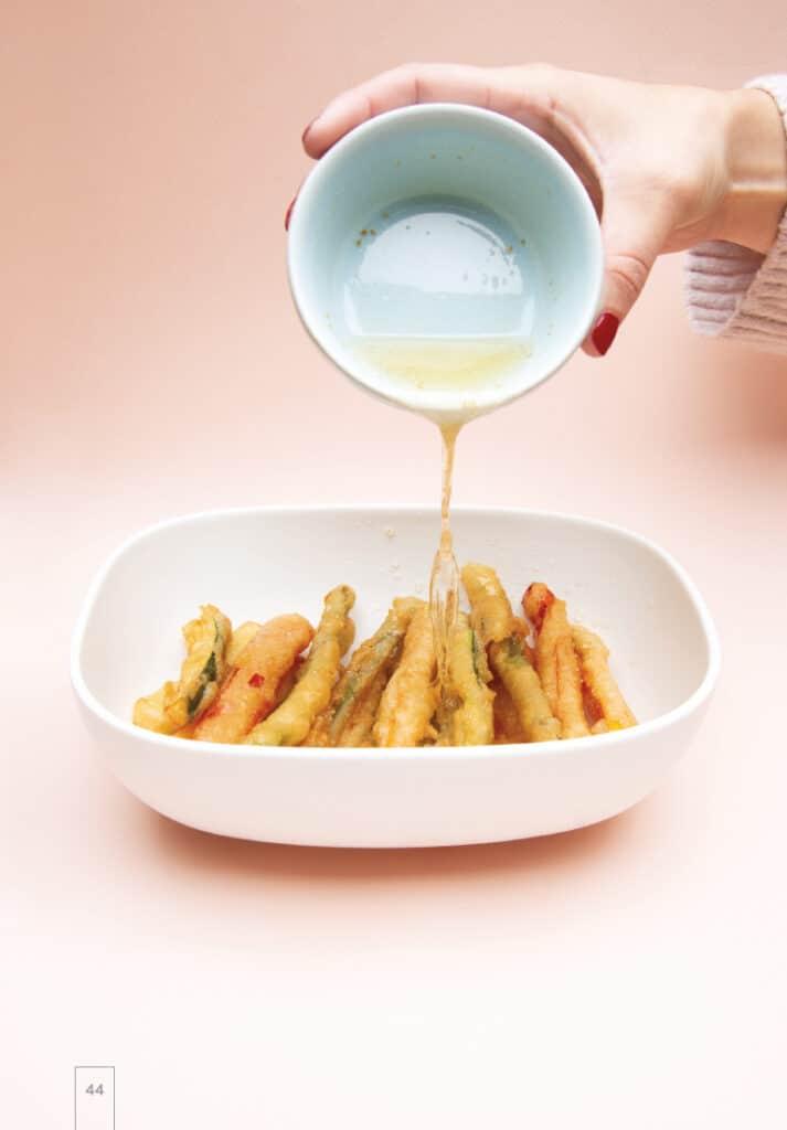 Légumes tempura