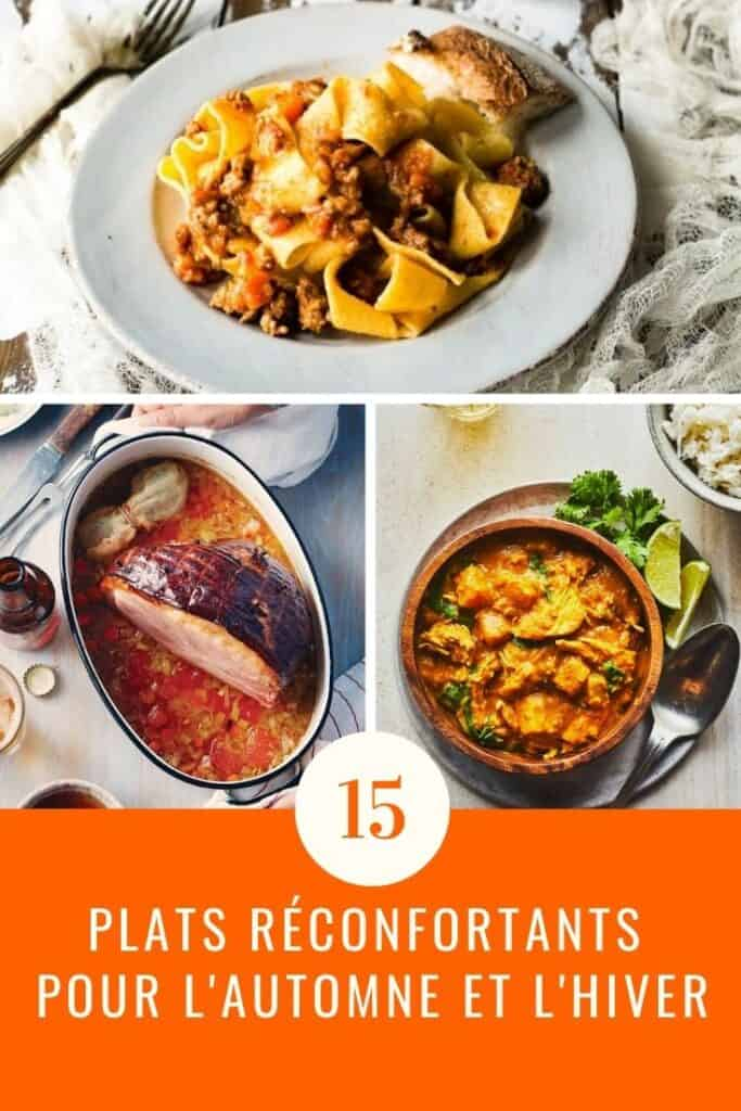 15 plats réconfortants pour l'automne et l'hiver