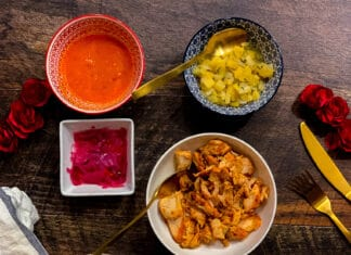 Tacos al pastor - Boite de tacos Lili & Gordo