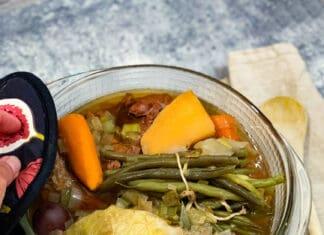 Bouilli - pot-au-feu boeuf et légumes