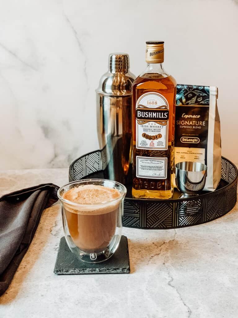 Café irlandais et ses ingrédients