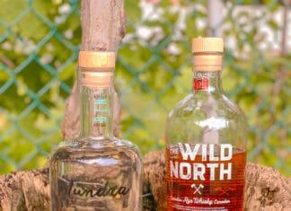 Gin toundra et whisky Wild North