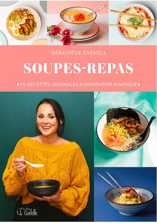 Couverture du livre Soupes-repas de Geneviève Everell