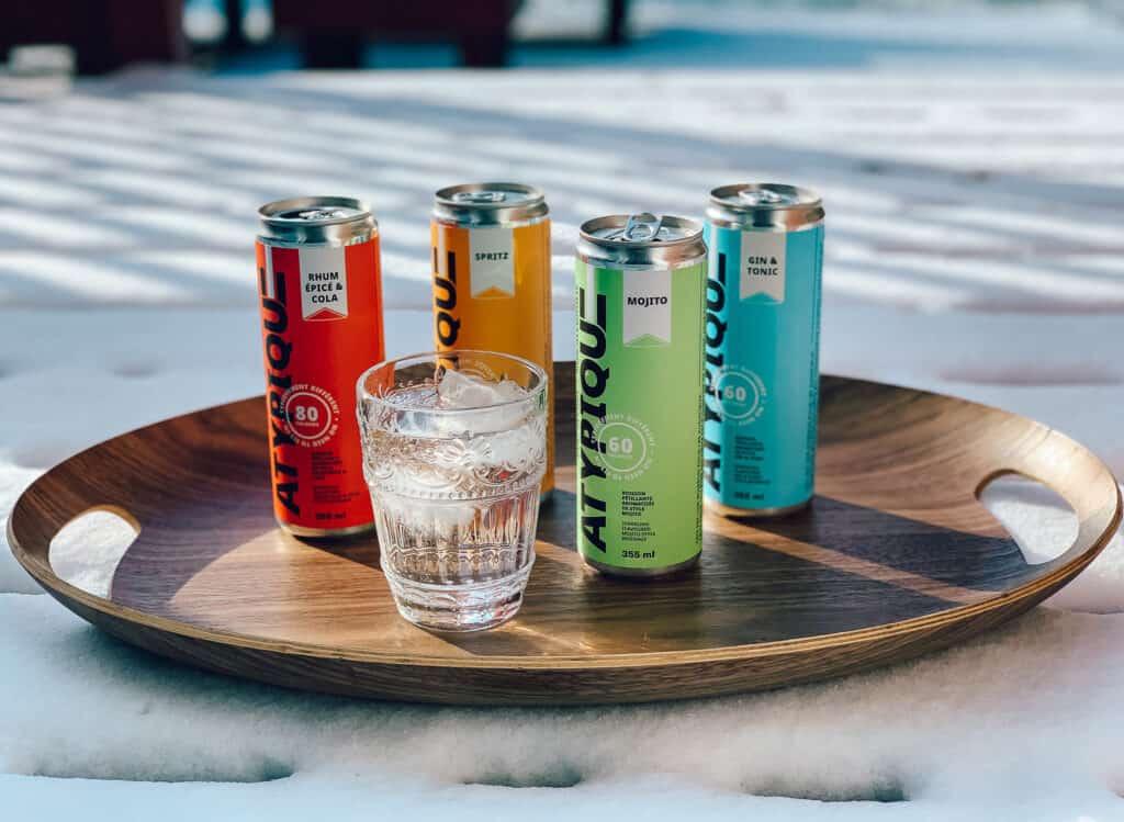 Atypiques - prêt-à-boire sans alcool