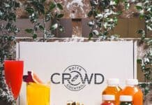 boîte de cocktails de Noël de Crowd and Flair
