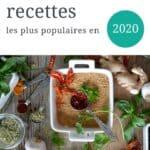 Les 20 recettes les plus populaires de 2020