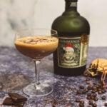 Cocktail au rhum Santa Diplomatico Tiramisu