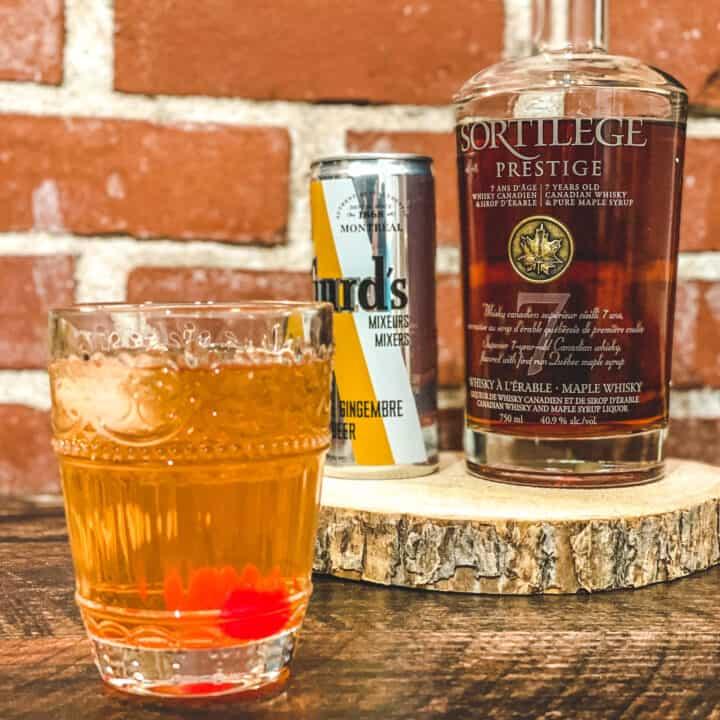 Cocktail au gingembre et Sortilège à l'érable