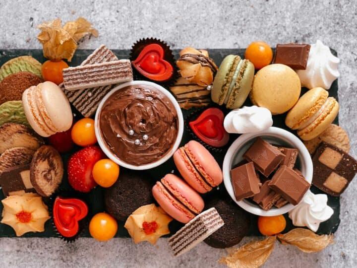 Comment faire une planche de desserts