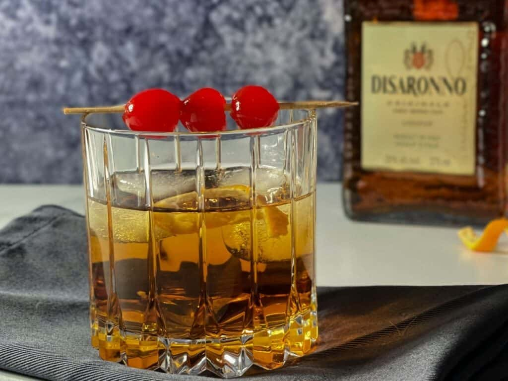 Old-fashioned amaretto et érable