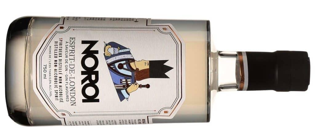 Dry gin sans alcool Esprit-de-London de Noroi