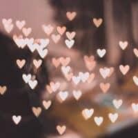 Petits coeur de la Saint-Valentin