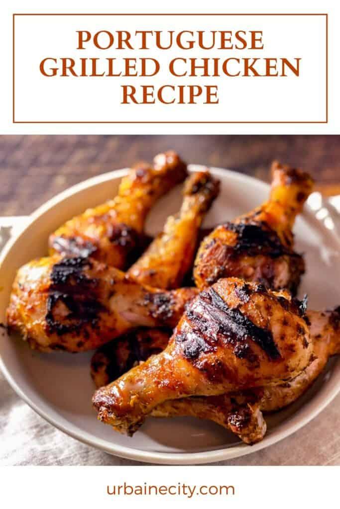 Portuguese Grilled Chicken Recipe
