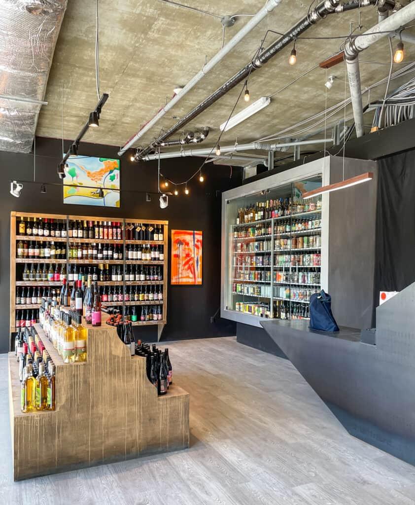 Intérieur de la boutique Le CinqàSept