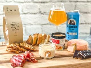 Les produits de la boutique CinqàSept, parfait pour l'apéro