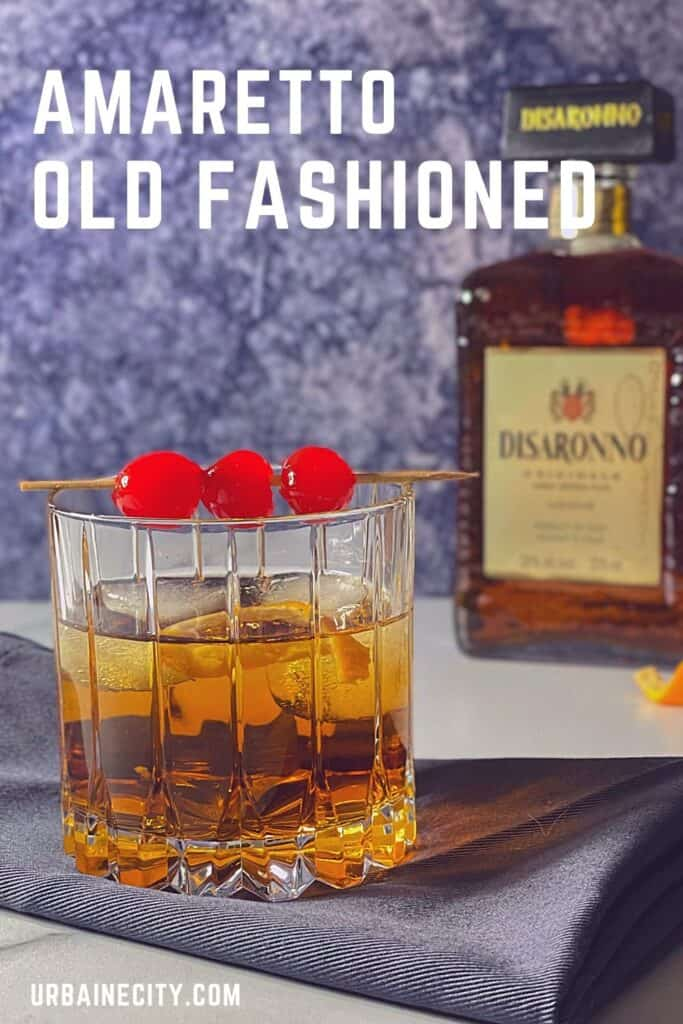 Amaretto old-fashioned