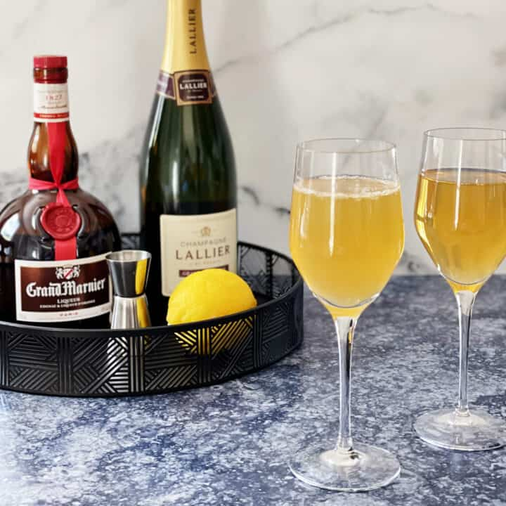 Grand 75 avec Grand Marnier et Champagne