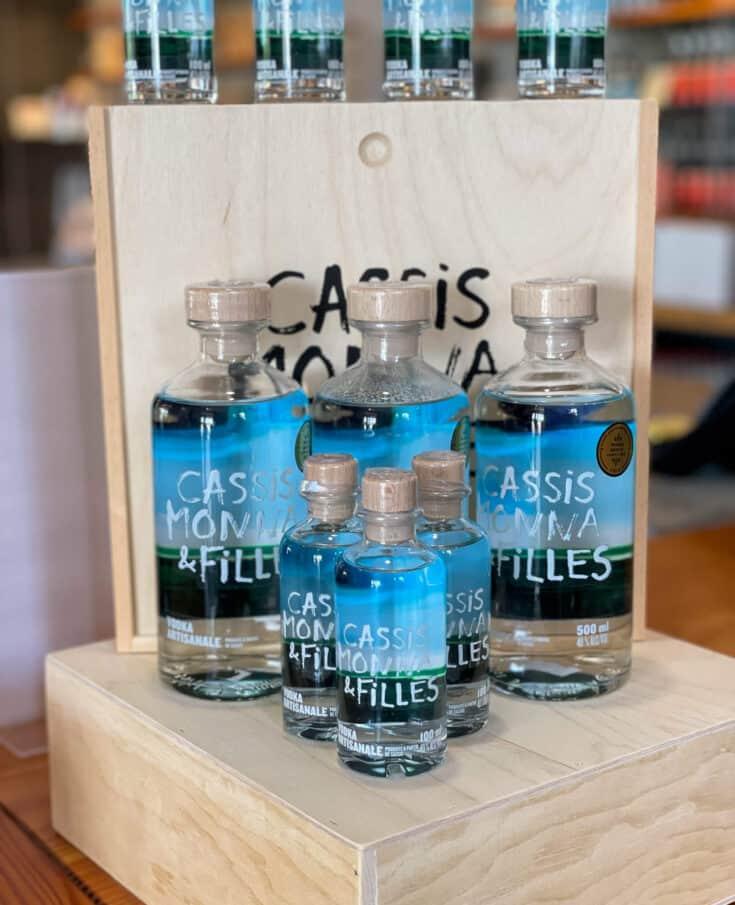 Vodka de Cassis Monna et Filles