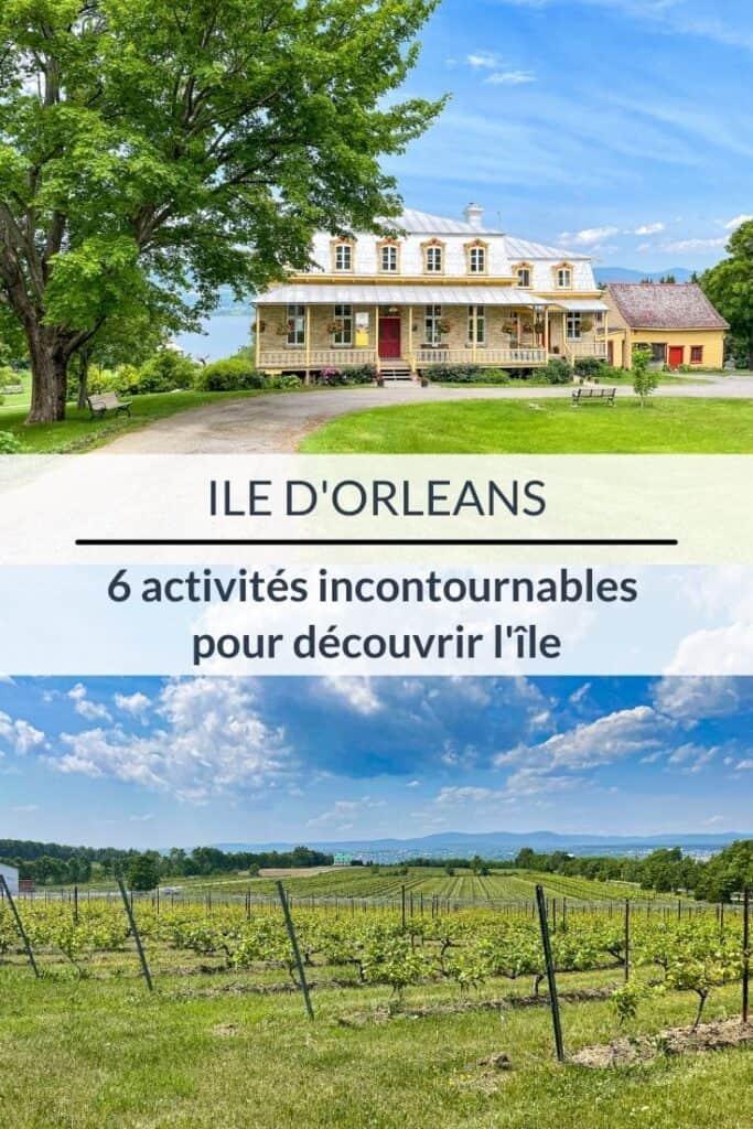 Escapade gourmande à l'île d'Orléans : 6 activités à faire
