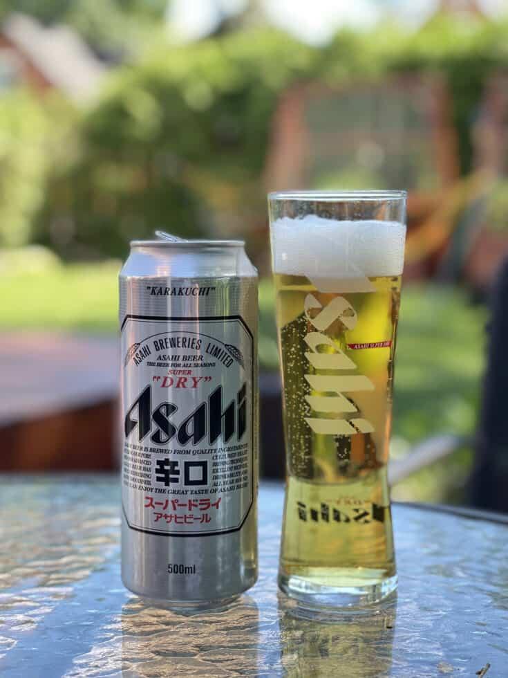 Bière Asahi Super Dry