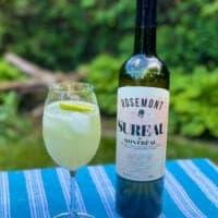 Cocktail à la liqueur de sureau : Beach Side
