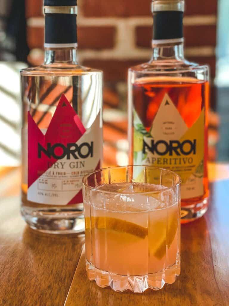 Gin et Aperitivo de la Distillerie Noroi