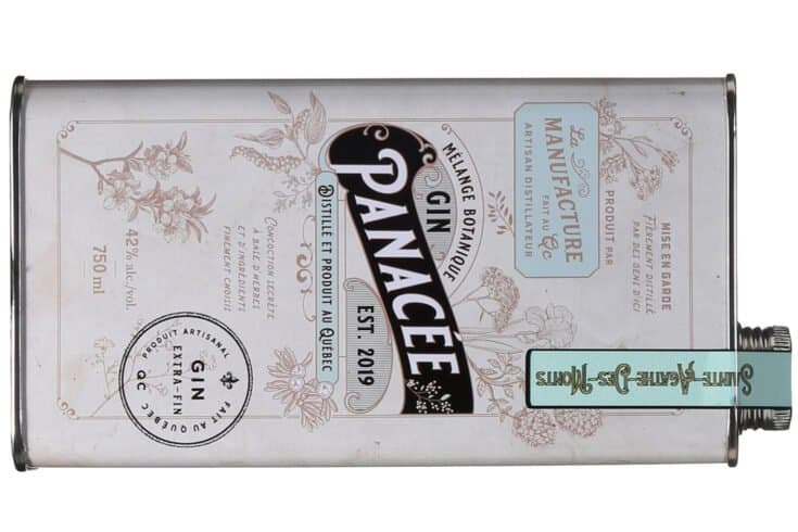 Gin Panacée, Distillerie de la Manufacture