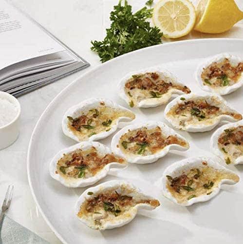 12 plats à huîtres