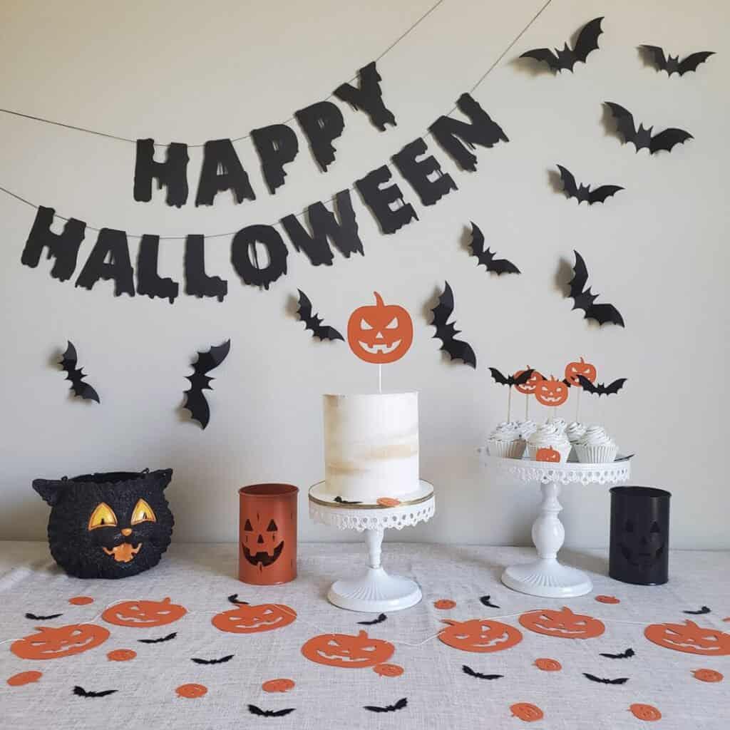 Ensemble de décorations d'Halloween
