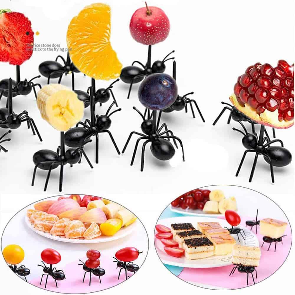 Fourchettes à apéritif ou dessert en araignée